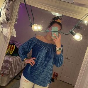 Banana Republic Off the Shoulder Blouse